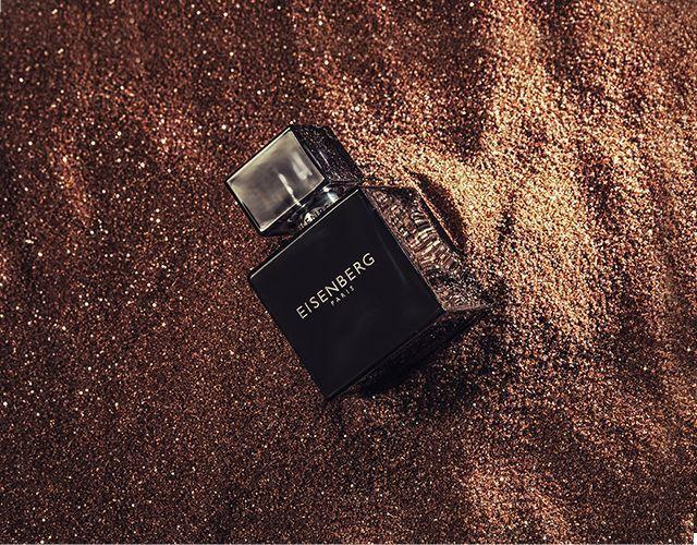 zdjęcie reklamowe perfum Eisenberg