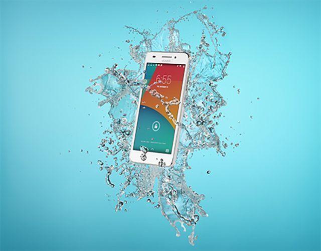 Zdjęcie reklamowe telefonu Huawei