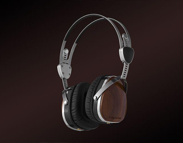 Słuchawki metalowe packshot